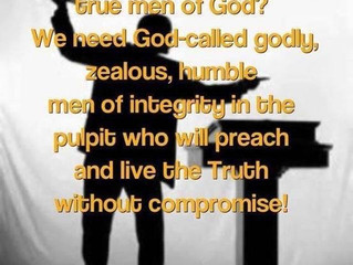 WE NEED TRUE SPIRIT FILLED PREACHERS