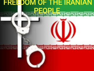 URGENT PRAYER FOR PEACE AND FREEDOM TO THE IRANIAN PEOPLE