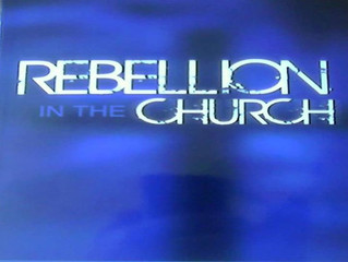 REBELLION THROUGH THE ABSALOM SPIRIT