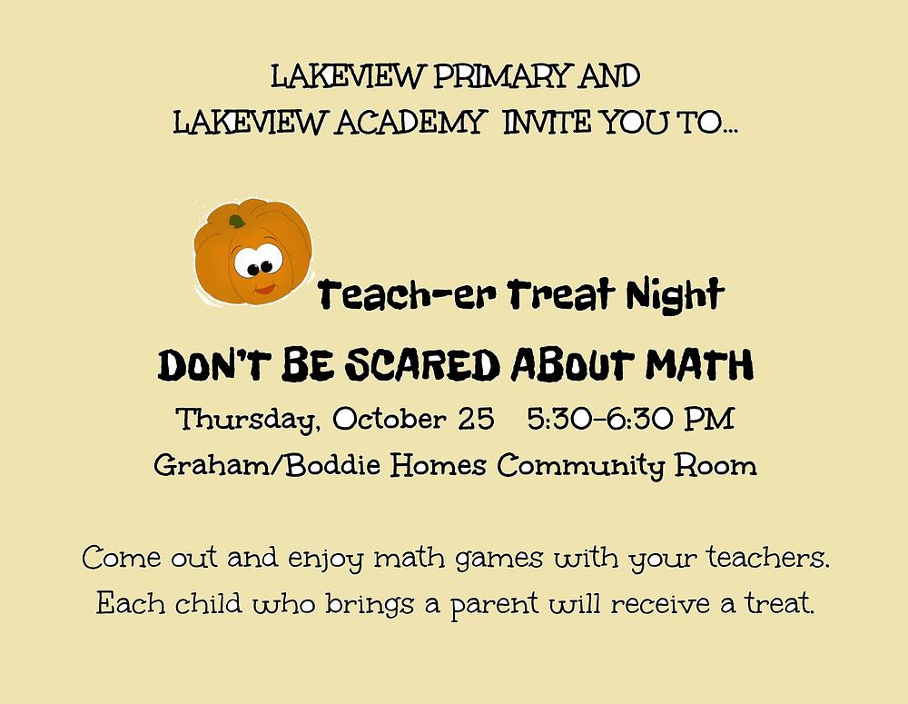 teach-er treat invitation