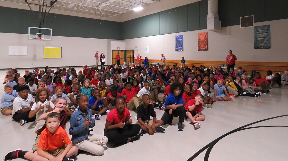 Third grade assembly