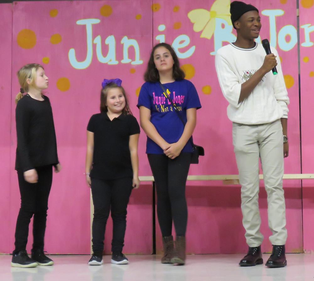 LVA Junie B. stage crew