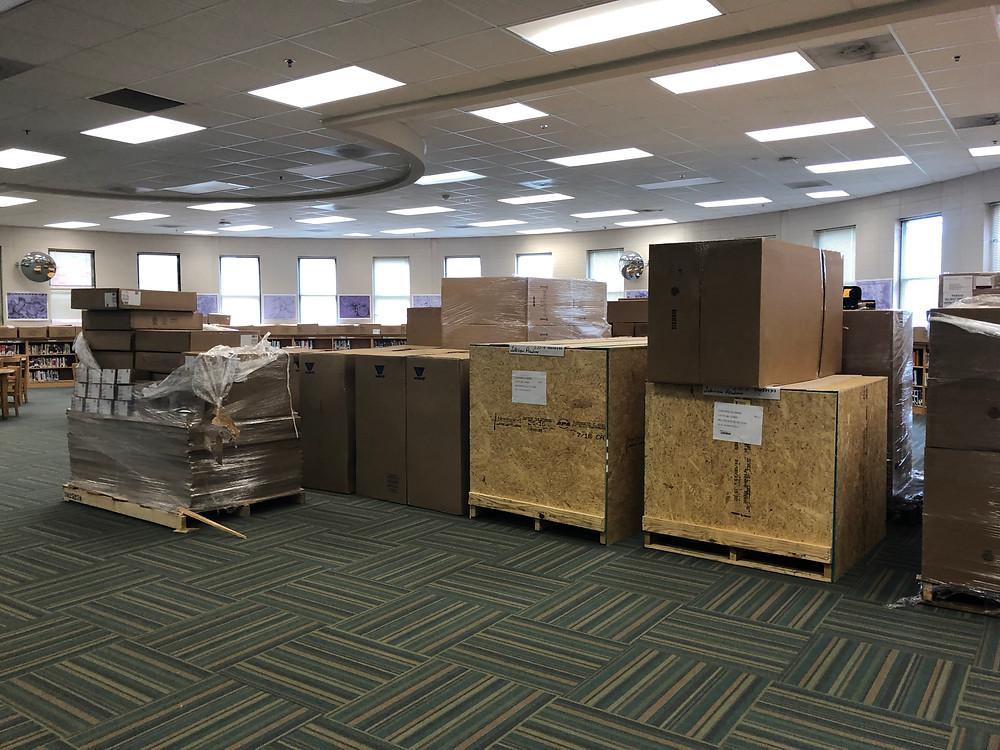 New furniture arrives