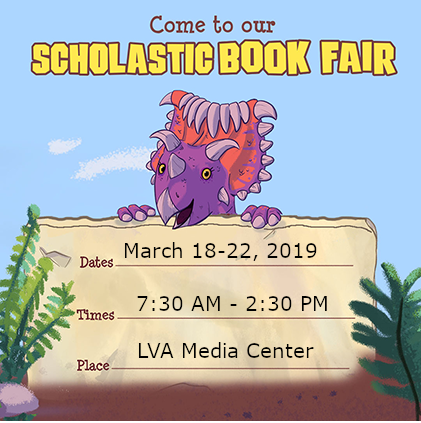 scholastic book fair poster