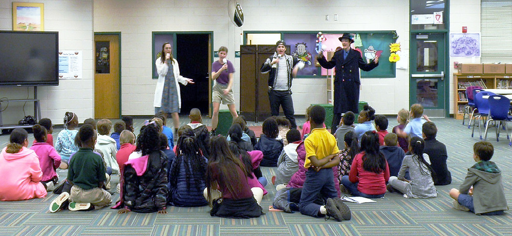 GCSU theatre presents play to 3rd graders