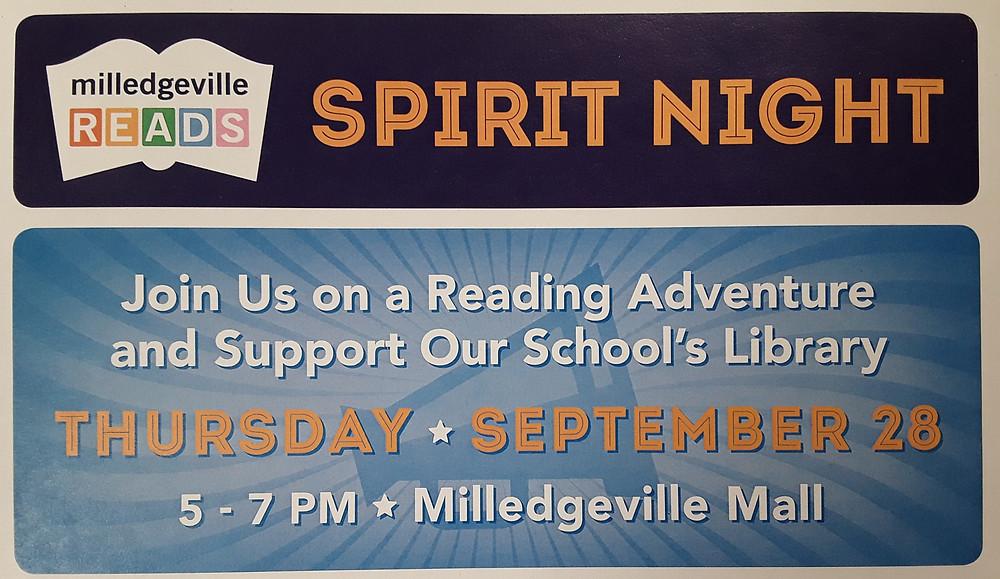 milledgeville reads flyer
