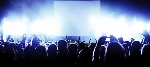 DJの群集