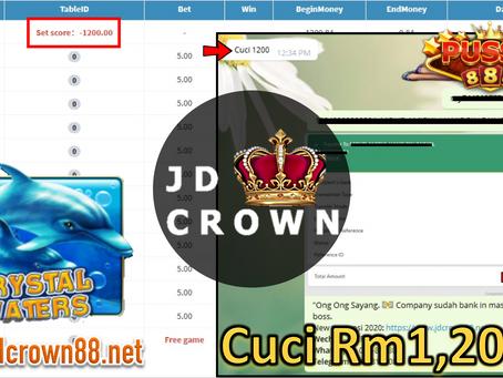 Member Cuci RM 1200 Dalam Game Pussy888