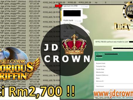 Member Cuci RM 2700 Dalam Game GloriousGriffin