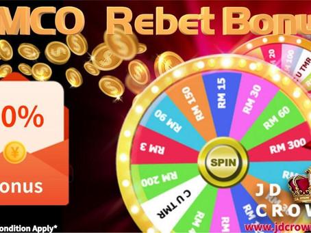 CMCO Rebate Bonus... Sebanyak 20%