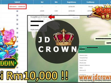 Member Cuci RM 10,000 Dalam Aladdin