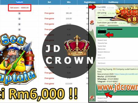 Member cuci RM6000 selepas dapat FreeGames dalam Pussy888