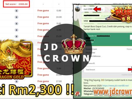 RM 2300 telah dicuci dalam game DragonGold