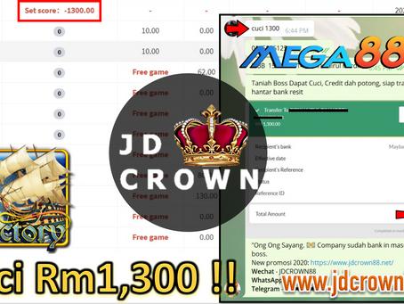 Member Cuci Rm 1300 Dengan Game Victory