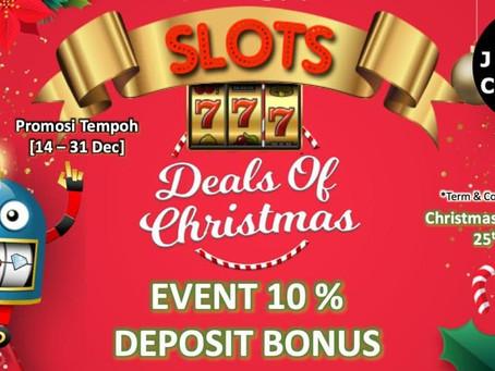 LuckyDraw Dan Special 10% Deposit Bonus Pada Musim Christmas ini