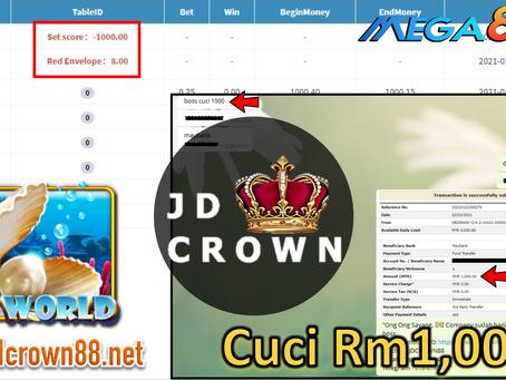 Member Berjaya cuci RM 1000 Dalam Game SeaWorld