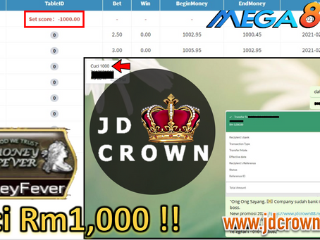 Member cuci RM 1000 dengan bet RM3 dalam MoneyFever