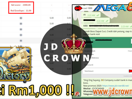 Member Cuci RM 1000 Dalam Game Victory