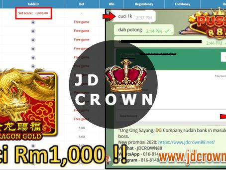 RM 1000 telah dicuci dalam Game DragonGold