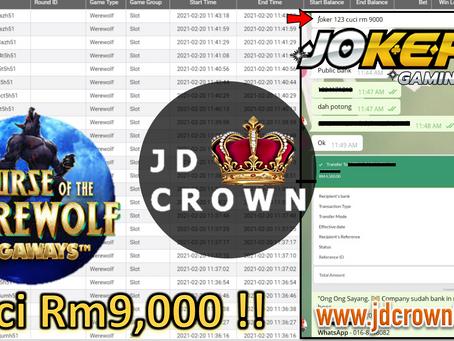 RM 9000 Telah Dicuci Dalam Game Joker