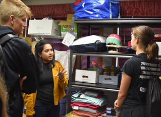 Classes go to migrant center to help out