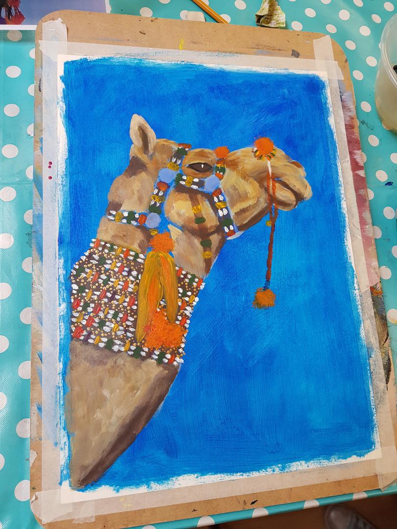Trish Evans, Camel
