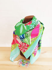 seahorse scarf green_ british wildlife s