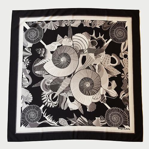 Purbeck ammonite scarf