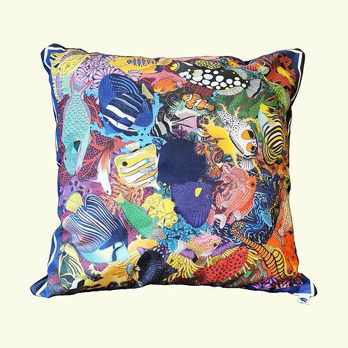 Electric Ocean Cushion