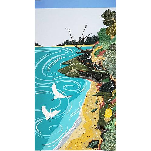 Little Egrets at Arne