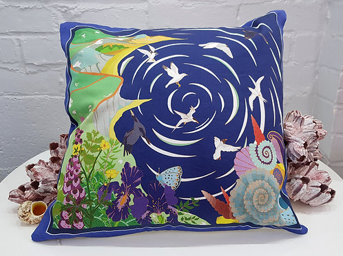 Kimmeridge cushion, coastal cushion series