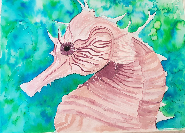 Hilary's seahorse