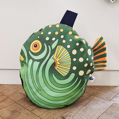 Paula the pufferfish doorstop