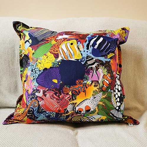 Electric Ocean Giant Cushions