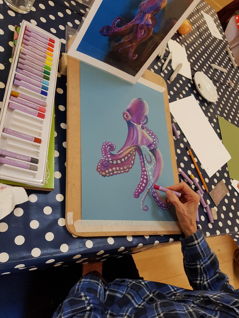 Octopus, Gill Williams