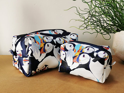 Puffin Party Wash Bag