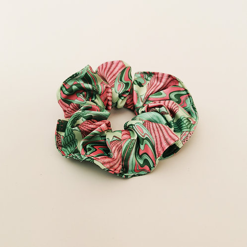 Seashell scrunchie