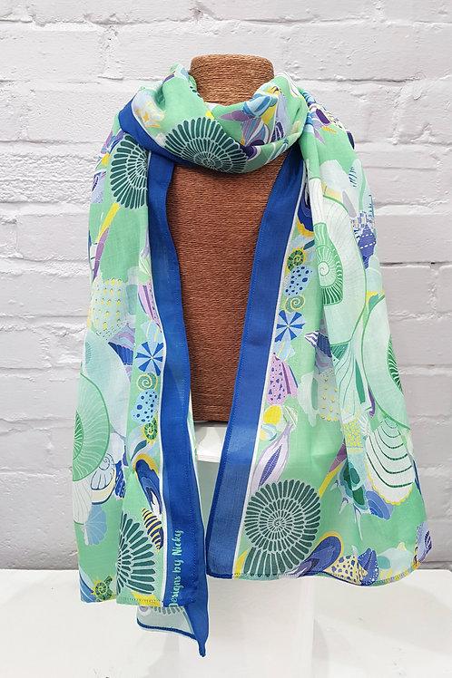 Nautiloid dreams scarf