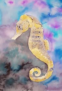 Pam's seahorse