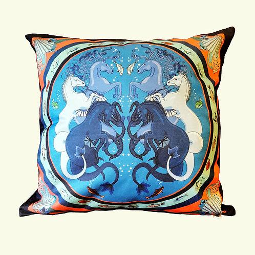 Kelpie cushion
