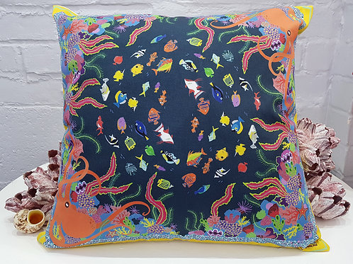 Coral reef cushion
