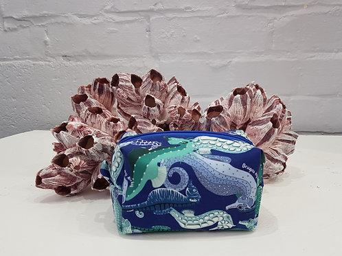 Pamper the hippocampus mini makeup bag