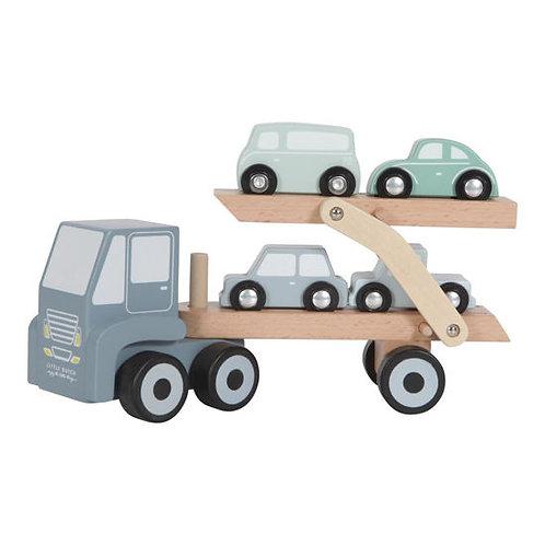 Little Dutch Camion transporteur Blue 116218