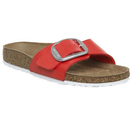Birkenstock Madrid Birko-Flor Big Buckle Graceful Hibiscus 114599