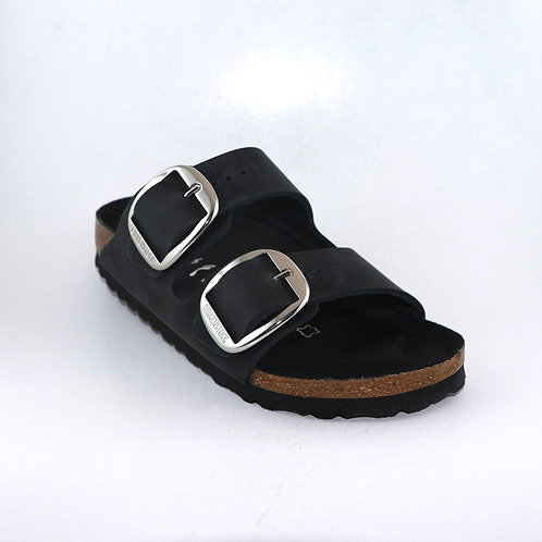 Birkenstock Arizona Big Buckle Black oiled 116545