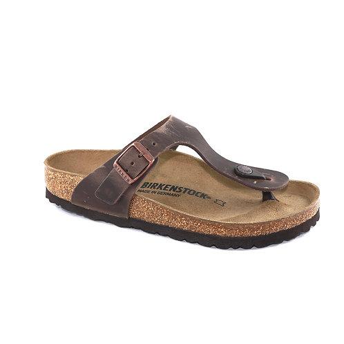 Birkenstock Gizeh Oiled Nubuk Leather Habana 103331