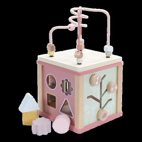 Little Dutch Activité cube aventure Rose 115556