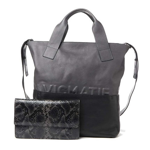 Vic Matié Grey/Black 115105