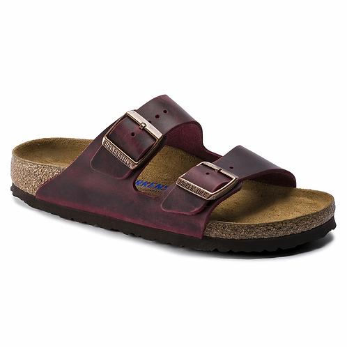 Birkenstock Arizona oiled Leather Soft Footbed Zinfandel 115205
