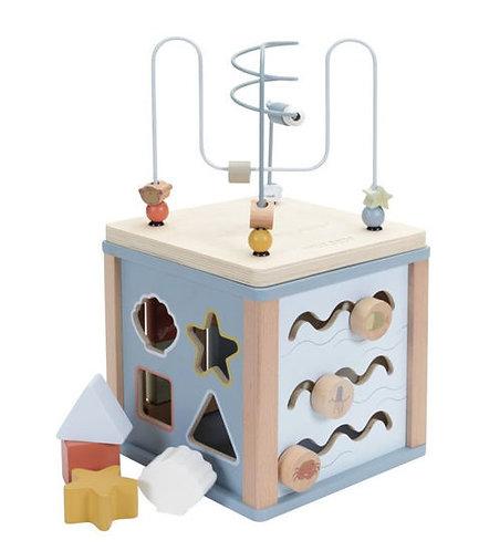 Little Dutch Activité cube aventure Blue 115512
